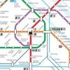 Поездка на венском метро с помощью карты