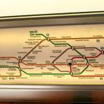 Что представляет собой схема метро Вены