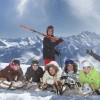 Наш семейный отдых зимой в Австрии