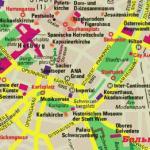 Карта Вены на русском языке