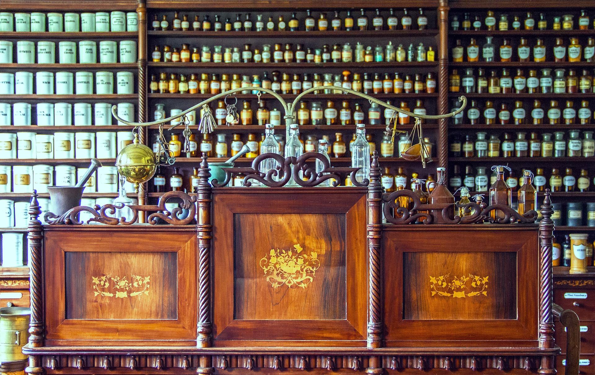 интересная аптека в Австрии