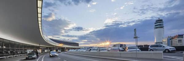 вид на аэропорт Вены