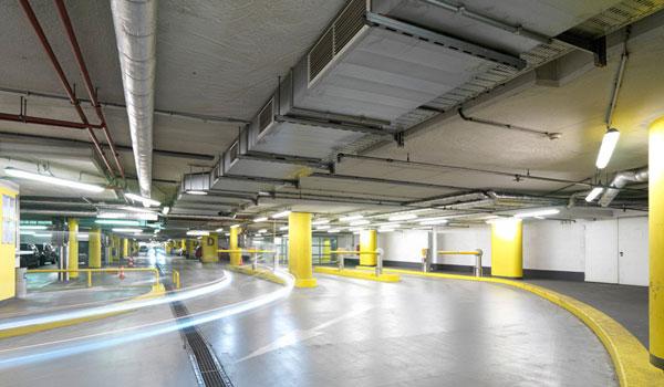 крытый паркинг в Вене