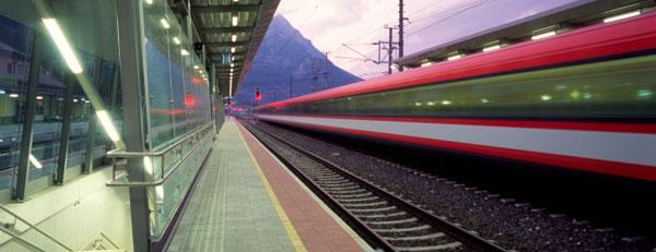 поезда и железные дороги в Австрии