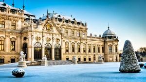 зимняя погода в Вене