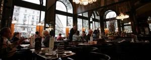 типичная кафешка в Вене