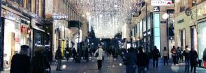 вид на зимнюю Вену