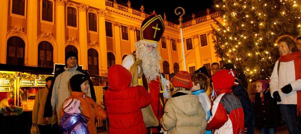 празднование Рождества в Австрии
