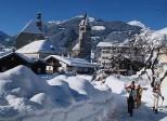 горнолыжный курорт Китцбюэль в Австрии