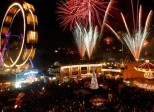 салют на Новый год в Вене