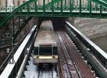 поезд в метро Вены
