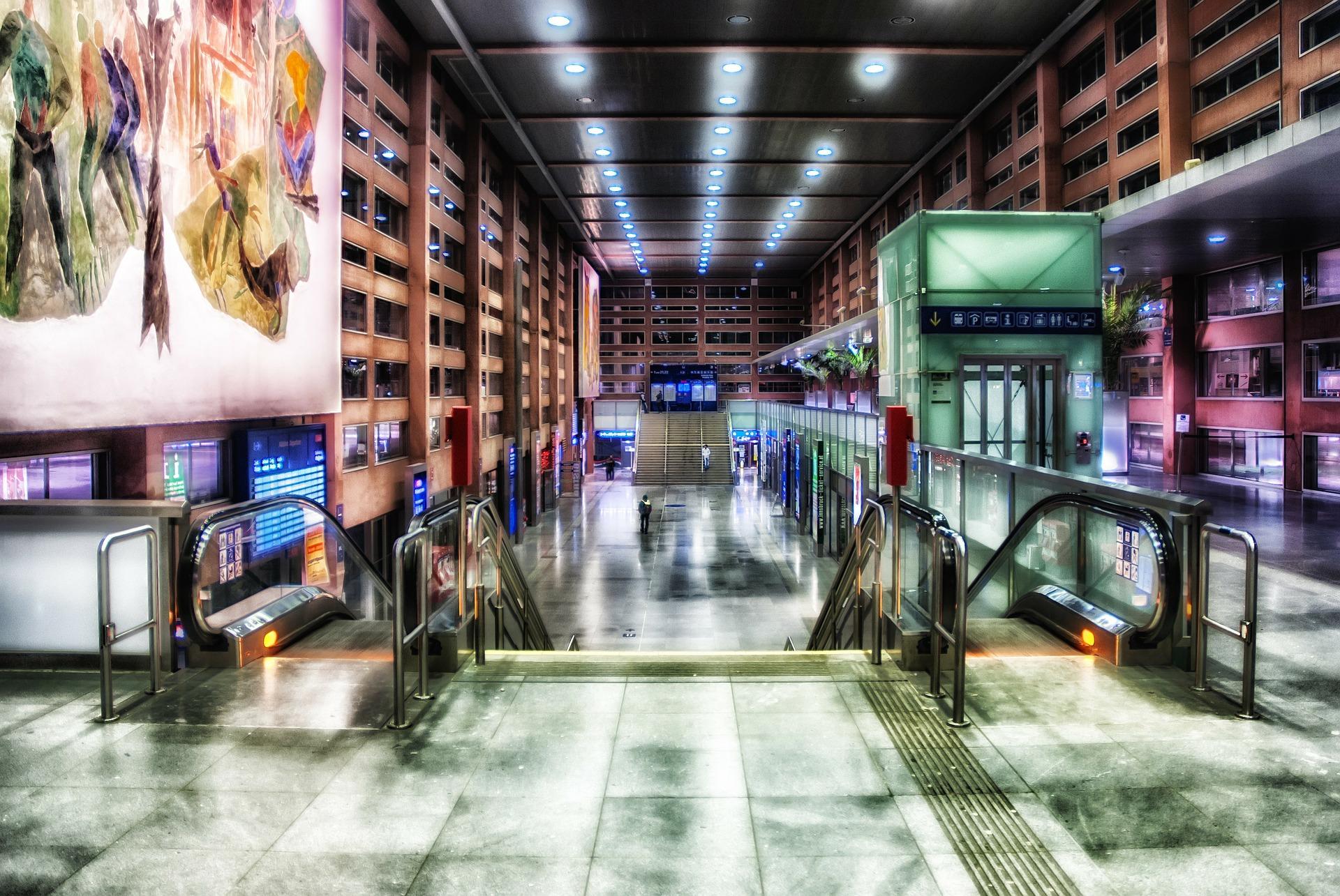 вокзал Инсбрук