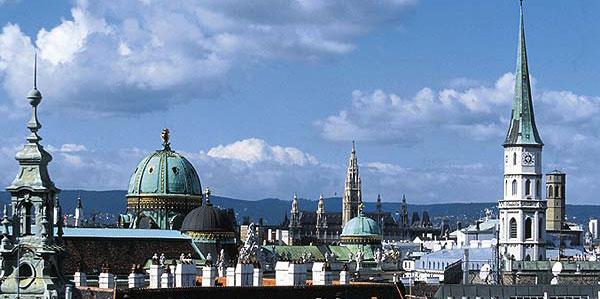 крыши столицы Вены