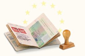 виза в Австрию в паспорте