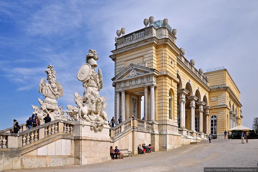 Дворцы в Вене
