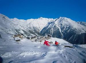 семейный отдых на лыжном курорте