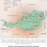 Подробная экономическая карта Австрии