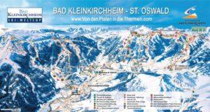 Фото карты туристических маршрутов Бад-Клайнкирххайм